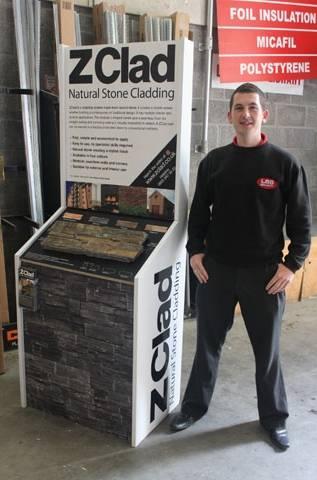 Takingreceipt ofthe display is Matthew O'sullivan(Internal Sales)
