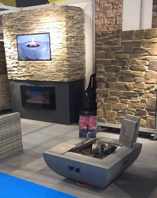 Stone cladding and ZClad systems on display